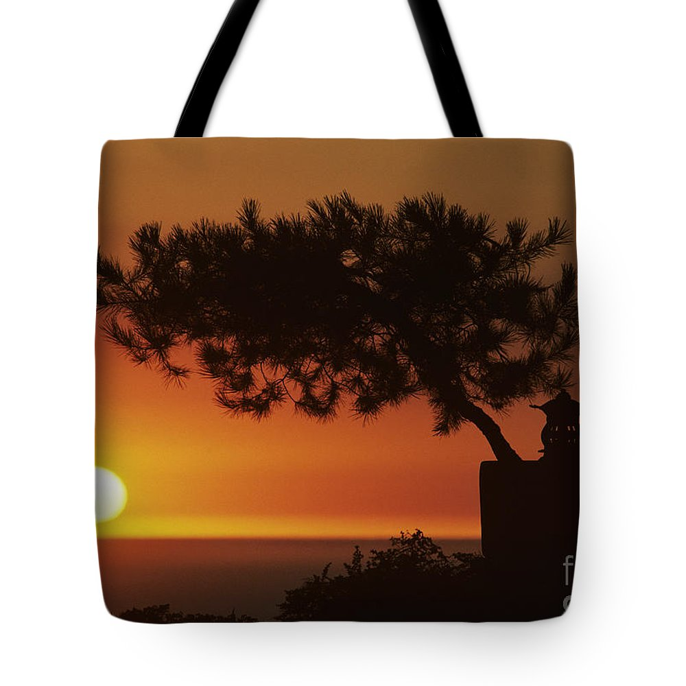 America Tote Bag featuring the photograph California, Big Sur Coast by Larry Dale Gordon - Printscapes