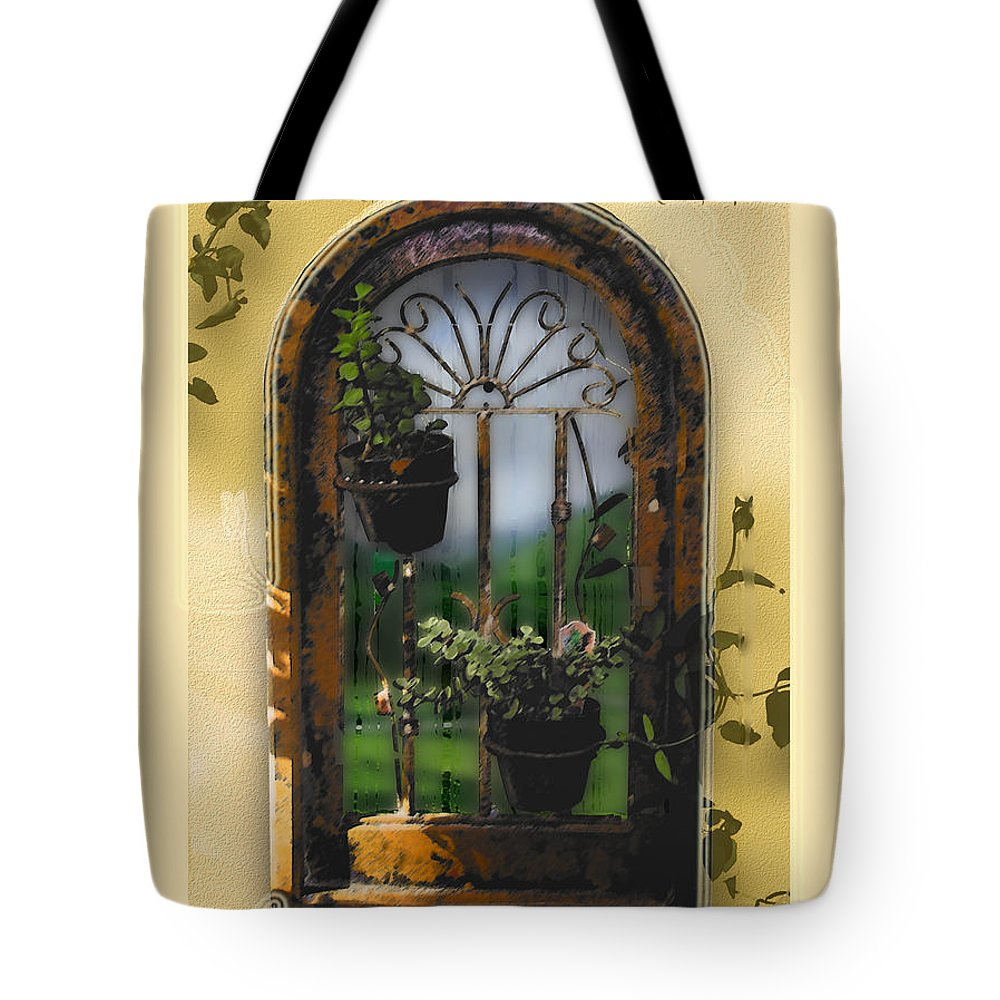 Abstract Tote Bag featuring the photograph California Dreamin by Karen W Meyer