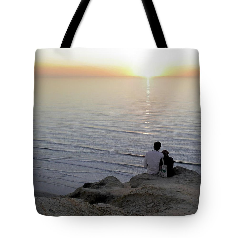 Pacific Tote Bag featuring the photograph California Dreaming by Christine Till