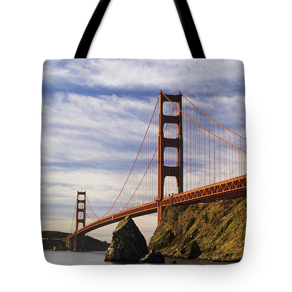 Across Tote Bag featuring the photograph California, San Francisco by Larry Dale Gordon - Printscapes