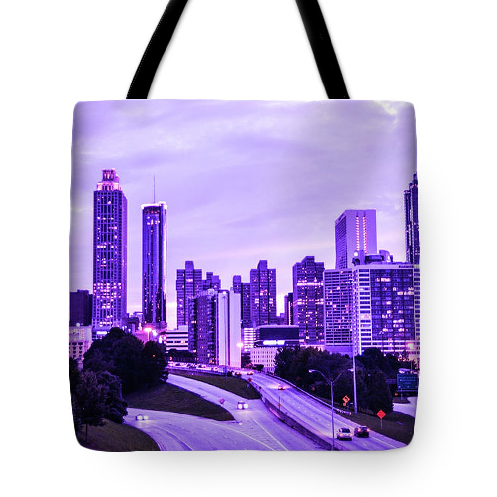 Atlanta Tote Bag featuring the photograph Calm After The Storm by Kennard Reeves