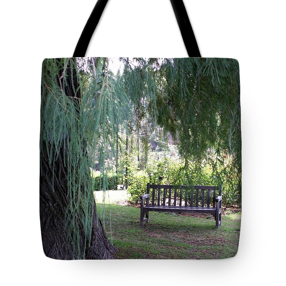 Landscape Tote Bag featuring the photograph Calm by Amy Fose