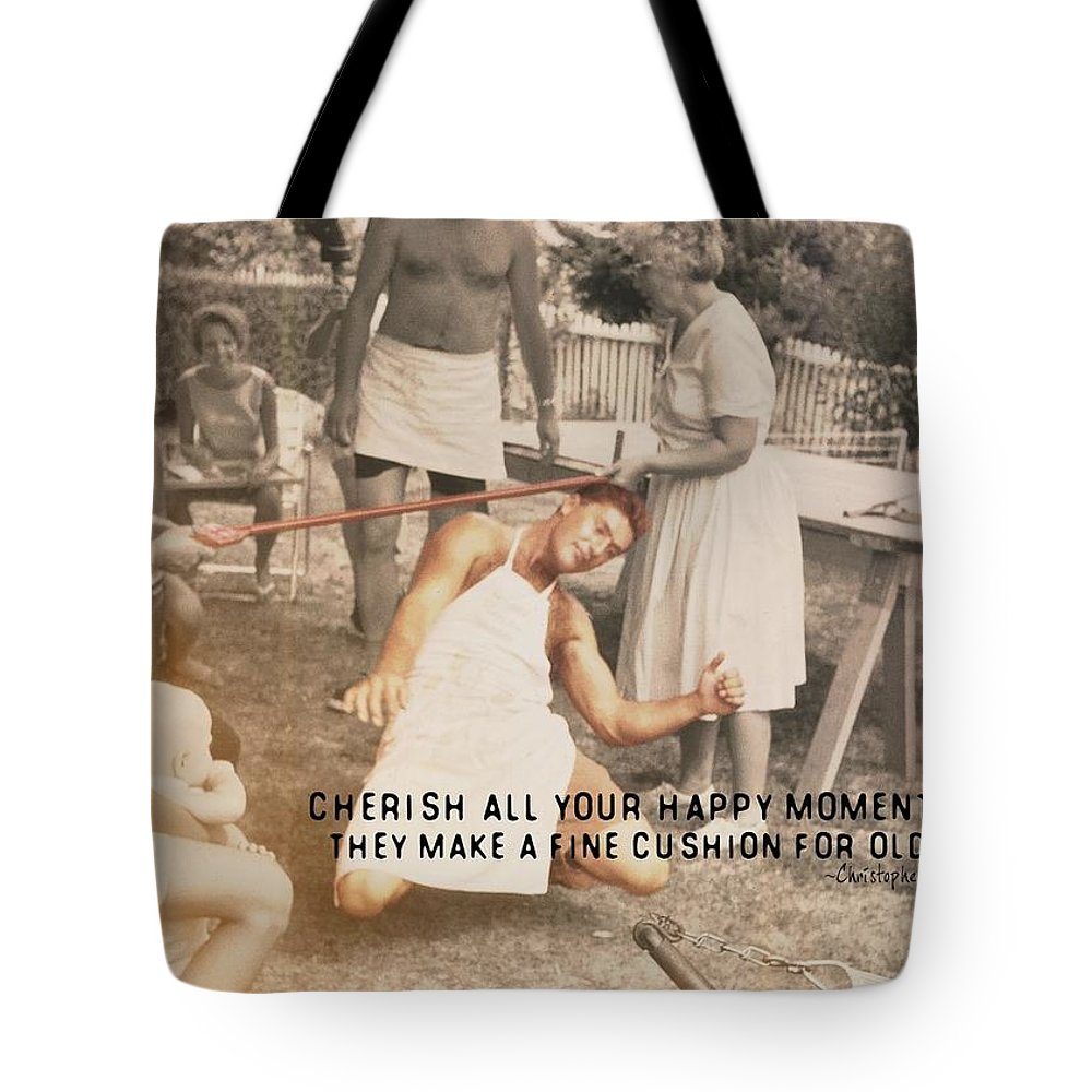 Limbo Tote Bag featuring the photograph Calypso Quote by JAMART Photography