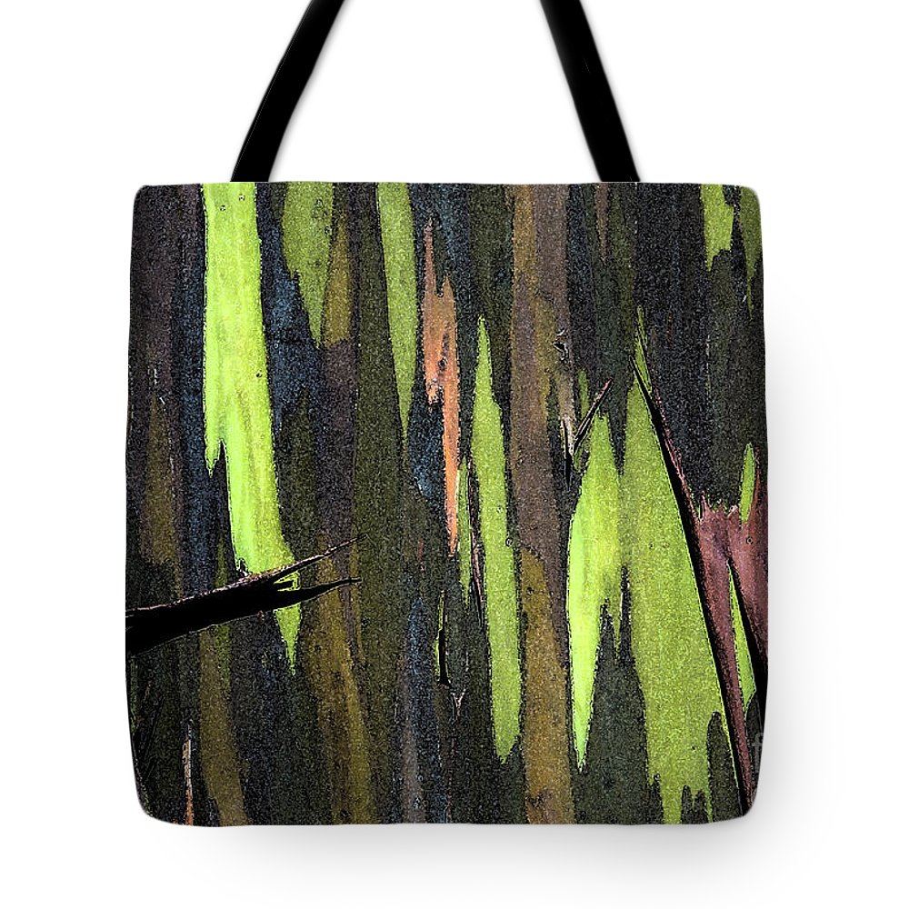 Abstract Tote Bag featuring the photograph Camouflage by Carl Ellis