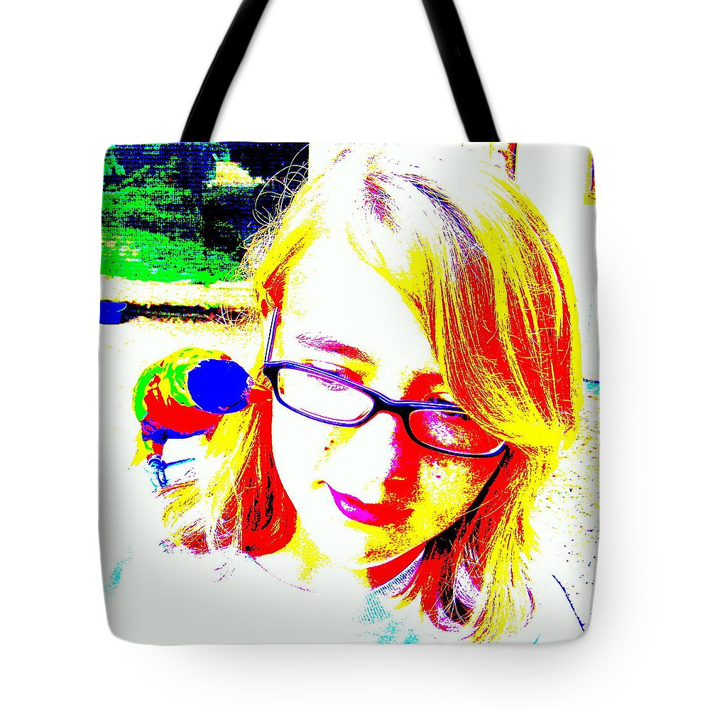 Bird Tote Bag featuring the photograph Can You Hear Me Now by Ed Smith