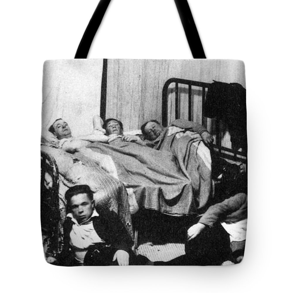 1930 Tote Bag featuring the photograph Canada: Great Depression, 1930 by Granger