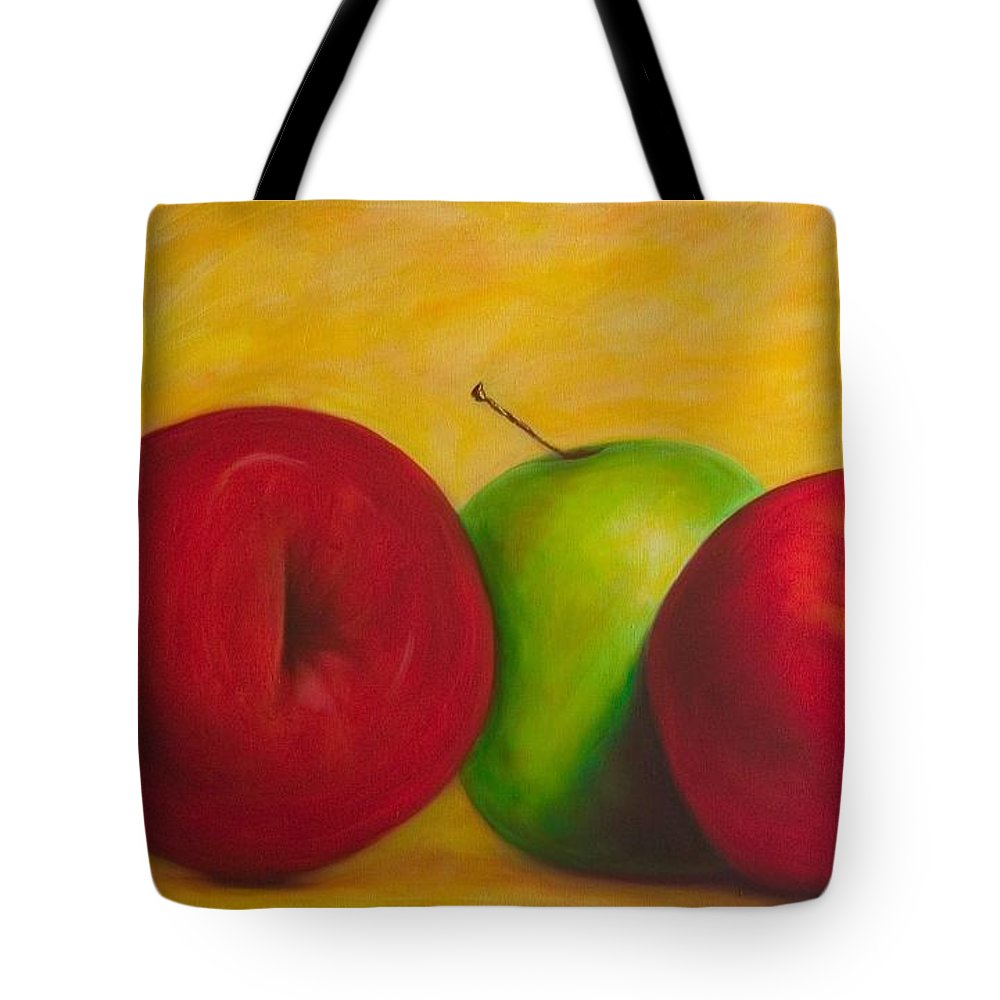 Still Life Tote Bag featuring the painting Cancan by Shannon Grissom