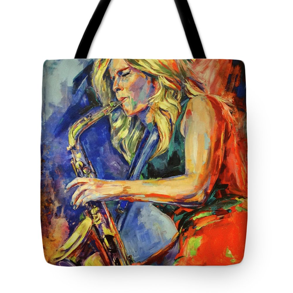 Candy Dulfer, Lily Was Here Tote Bag