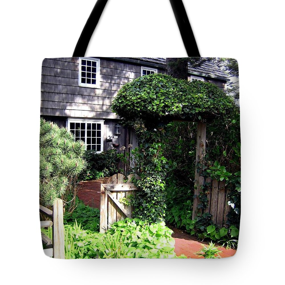 House Tote Bag featuring the photograph Cannon Beach Charm by Will Borden