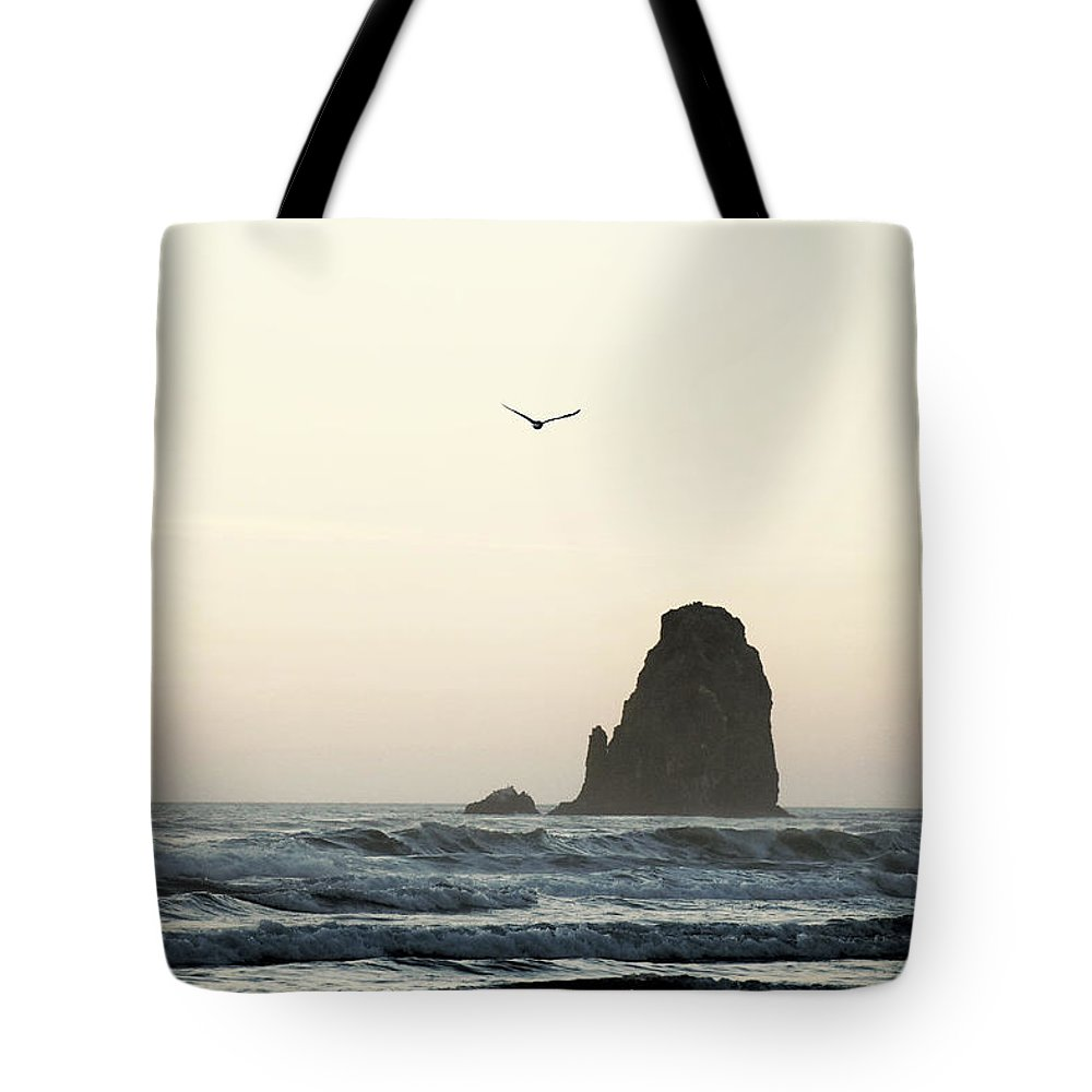 Tote Bag featuring the photograph Cannon Beach by Brandon Larson