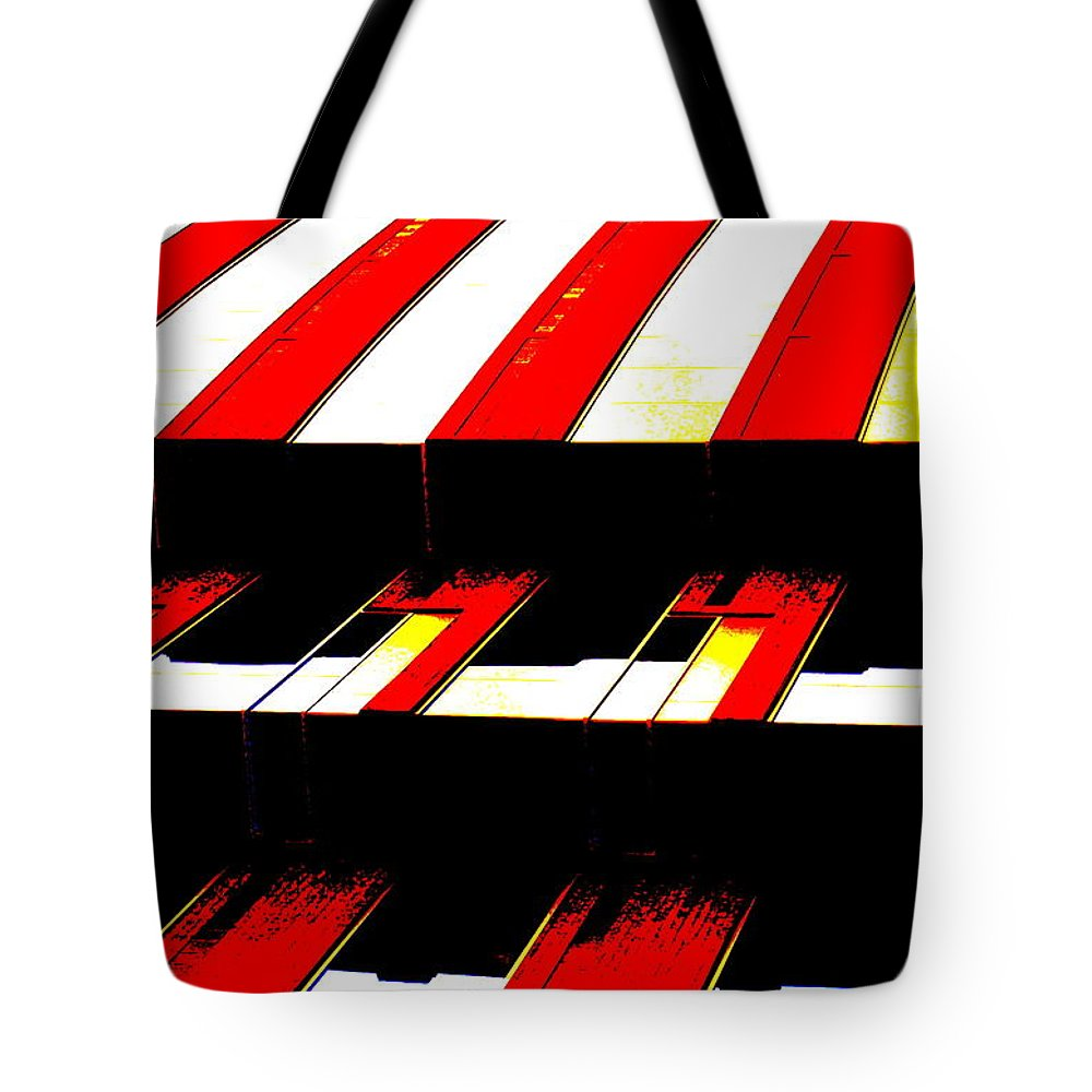 Canopy Couture Tote Bag featuring the photograph Canopy Couture by Ed Smith