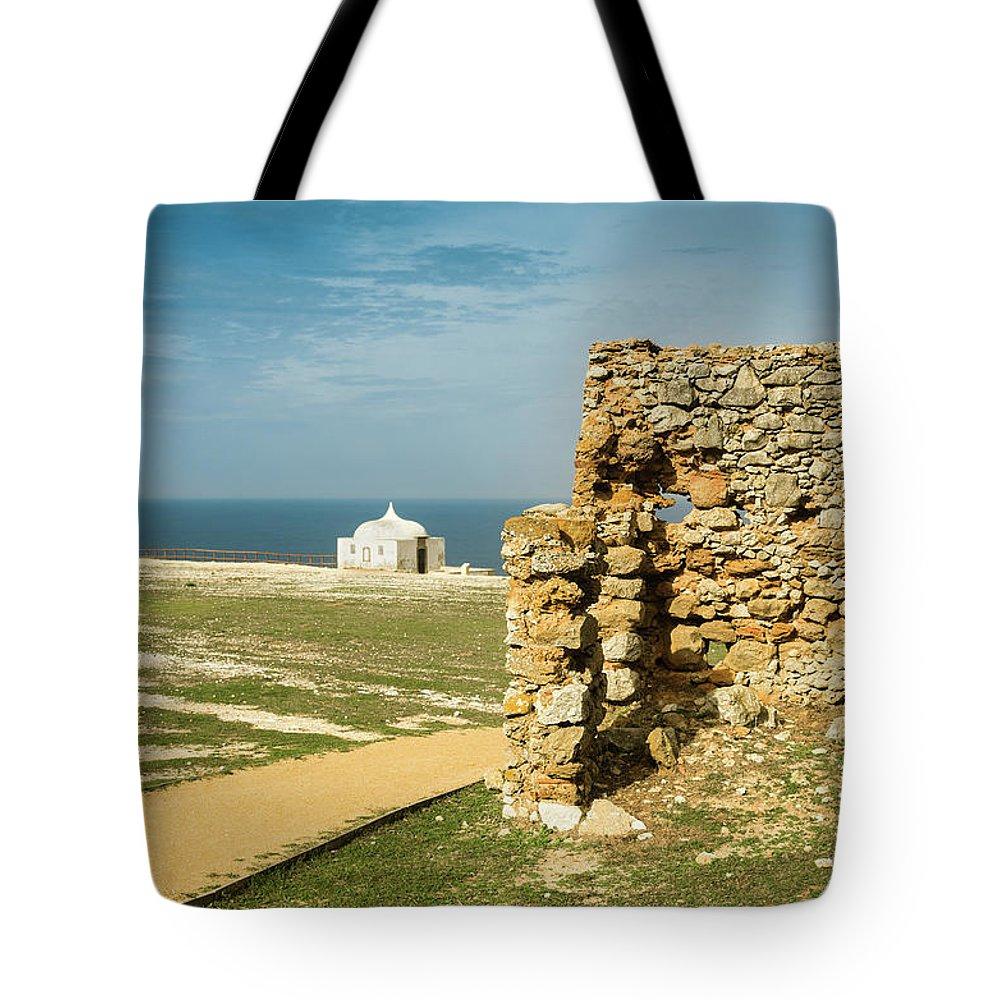 Espichel Tote Bag featuring the photograph Cape Espichel by Carlos Caetano