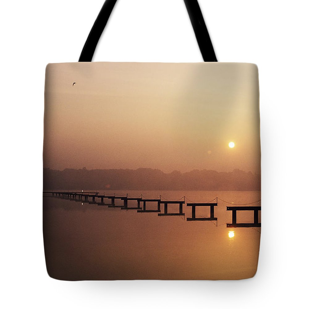 Beautiful Tote Bag featuring the photograph Cape May by Larry Dale Gordon - Printscapes