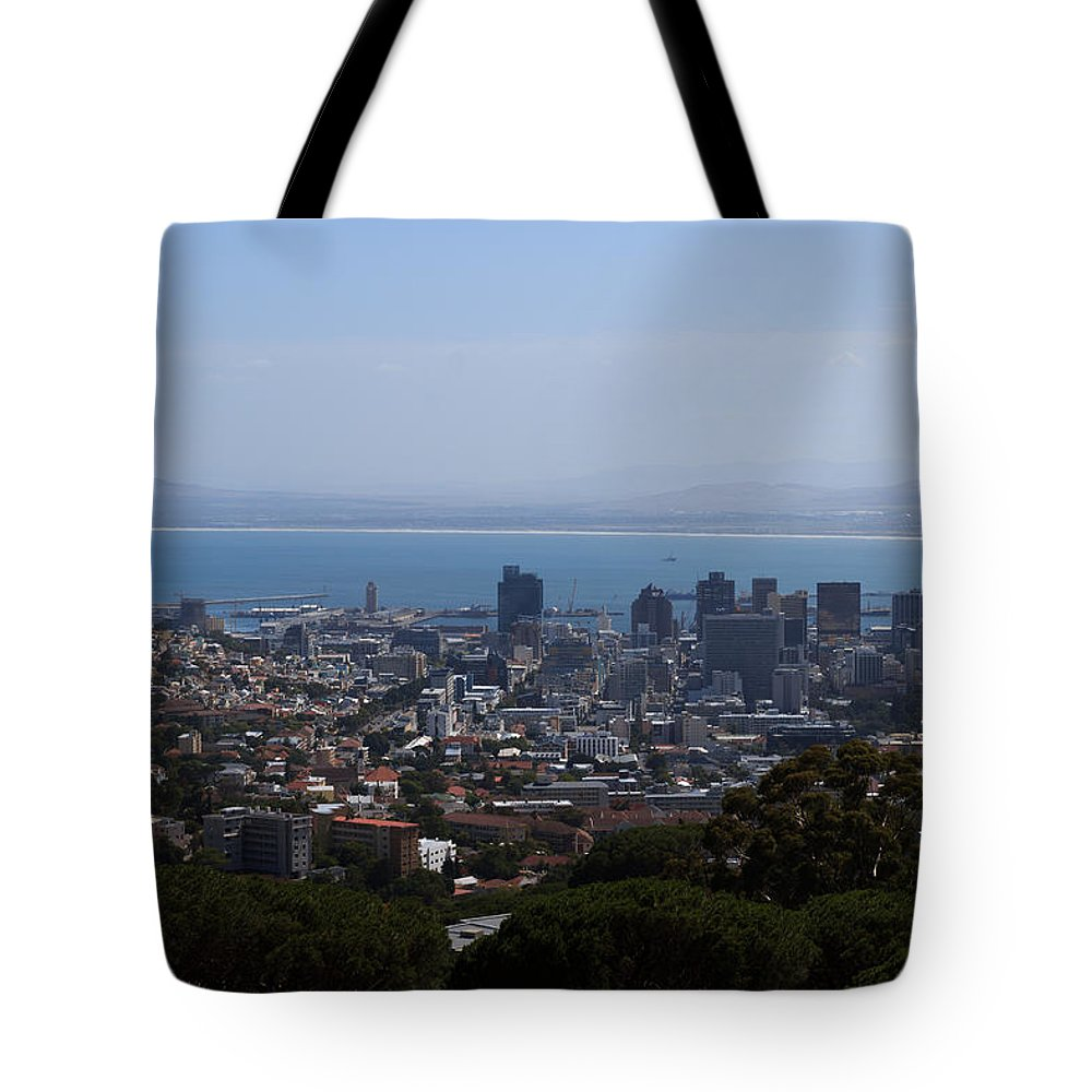 Africa Tote Bag featuring the photograph Cape Town by Davide Guidolin