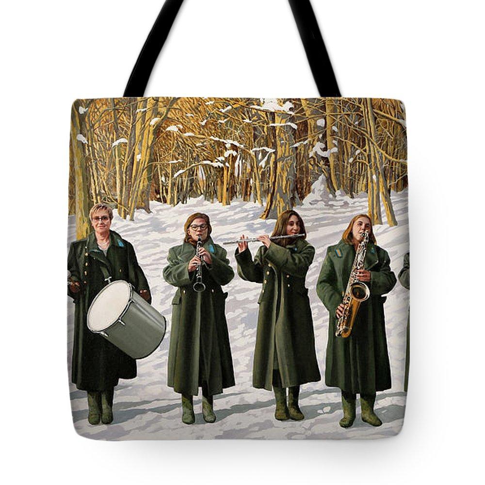 Coat Tote Bags