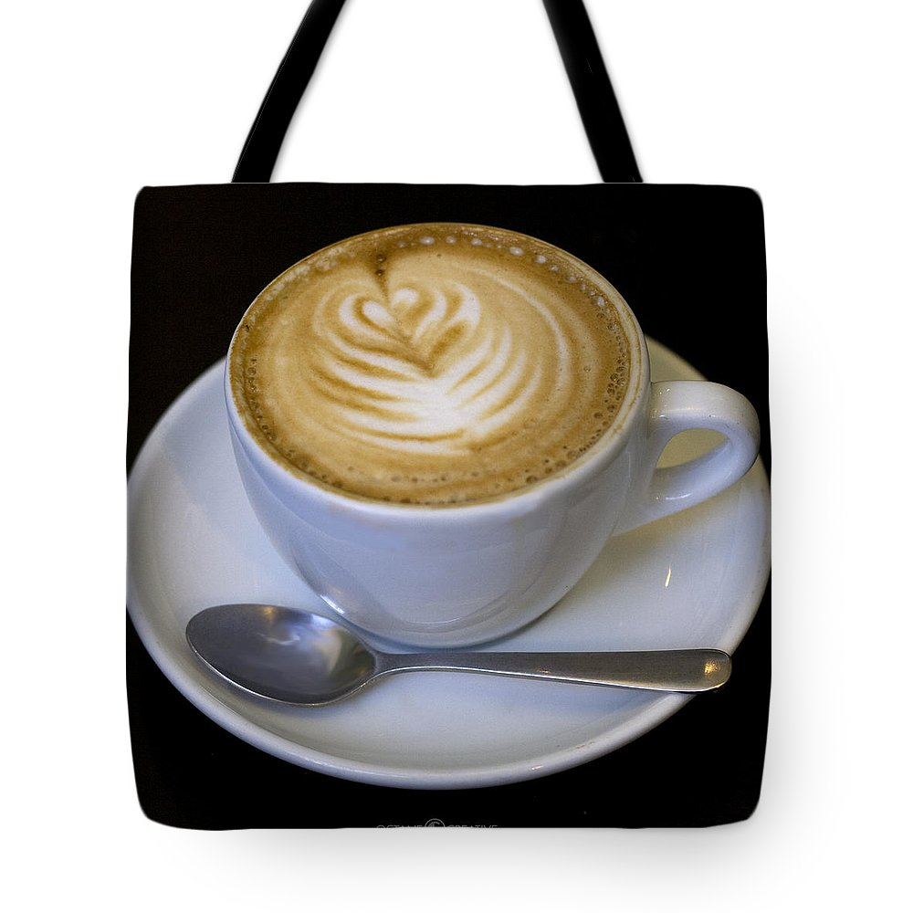 Coffee Tote Bag featuring the photograph Cappuccino by Tim Nyberg