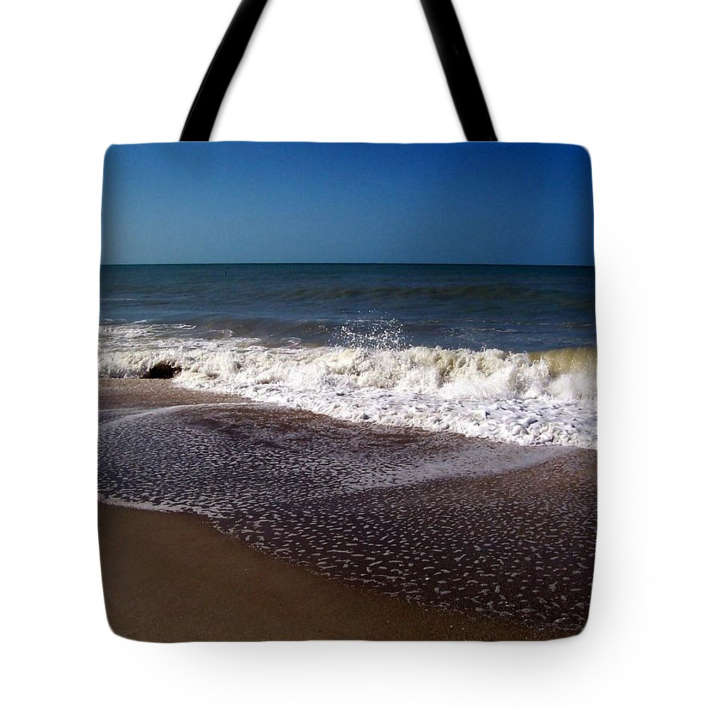 Ocean Tote Bag featuring the photograph Captiva 2009 by Elizabeth Klecker