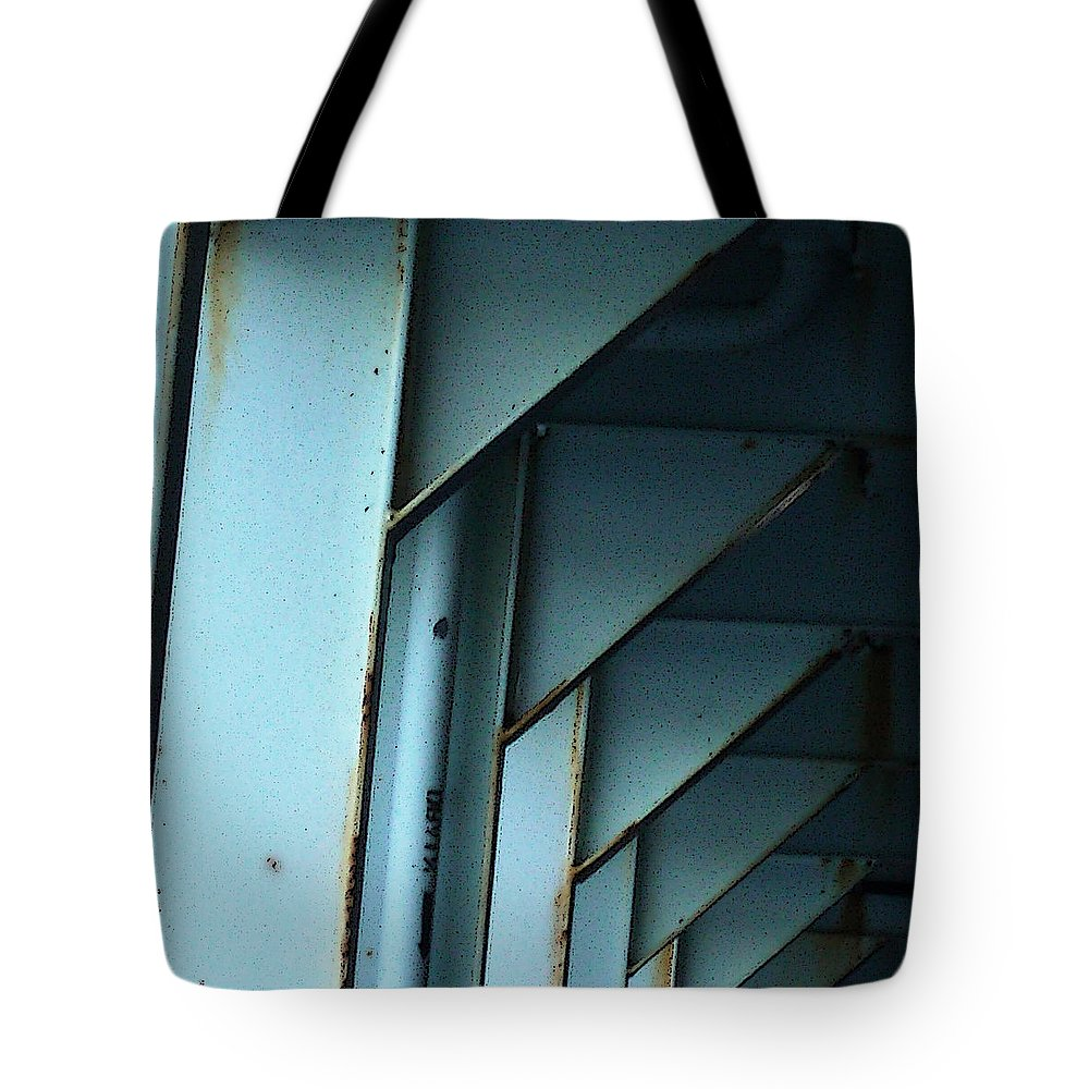 Ferry Tote Bag featuring the photograph Car Ferry by Tim Nyberg