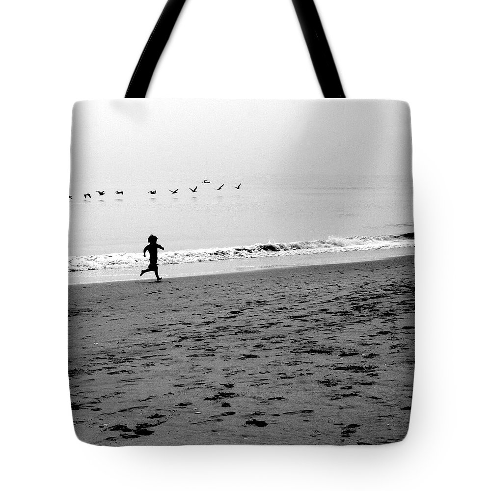 Photograph Tote Bag featuring the photograph Carefree by Jean Macaluso