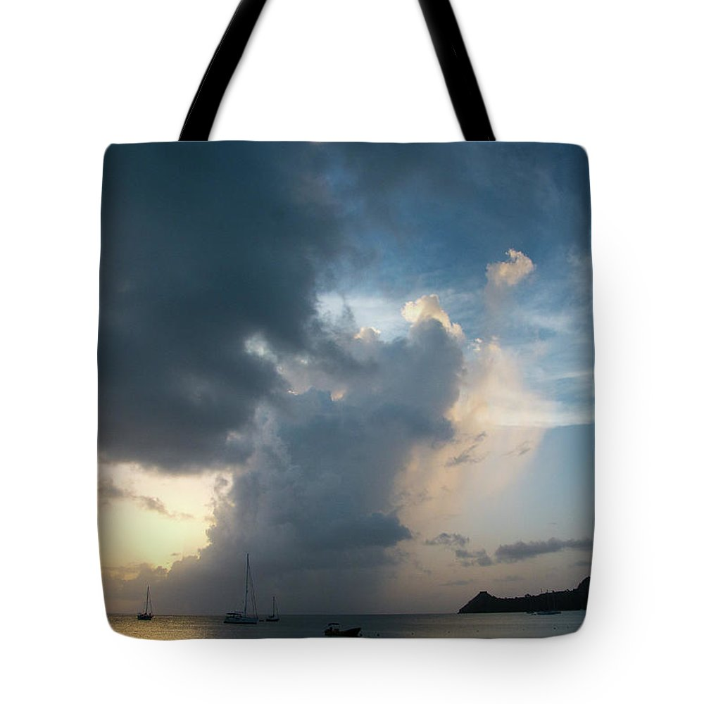 America Tote Bag featuring the photograph Caribbean Skies And Light 1 by Riccardo Forte