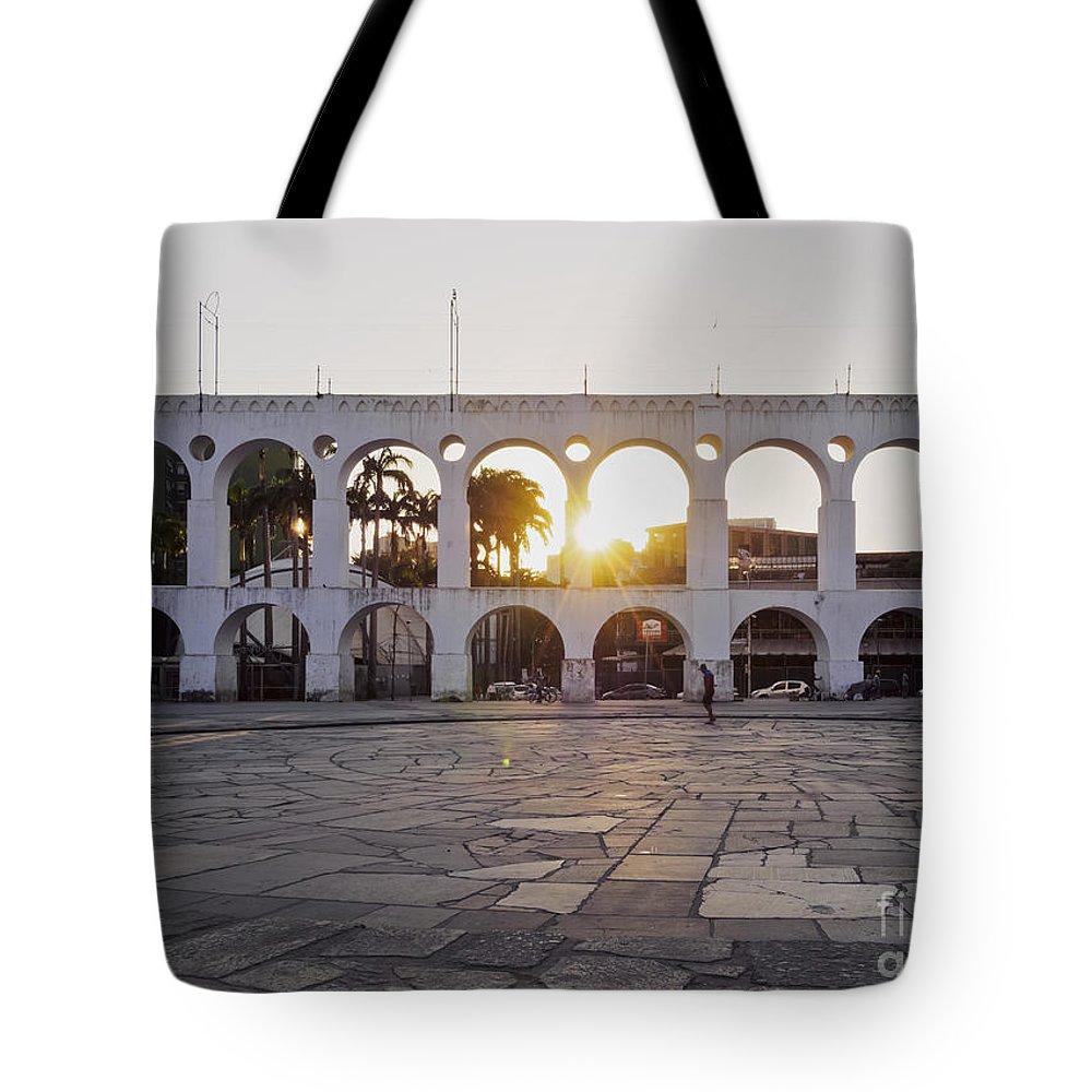 South America Tote Bag featuring the photograph Carioca Aqueduct, Rio De Janeiro by Karol Kozlowski