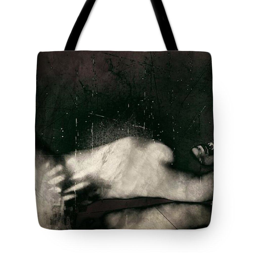 Tote Bag featuring the photograph Carnal  by Jessica Shelton