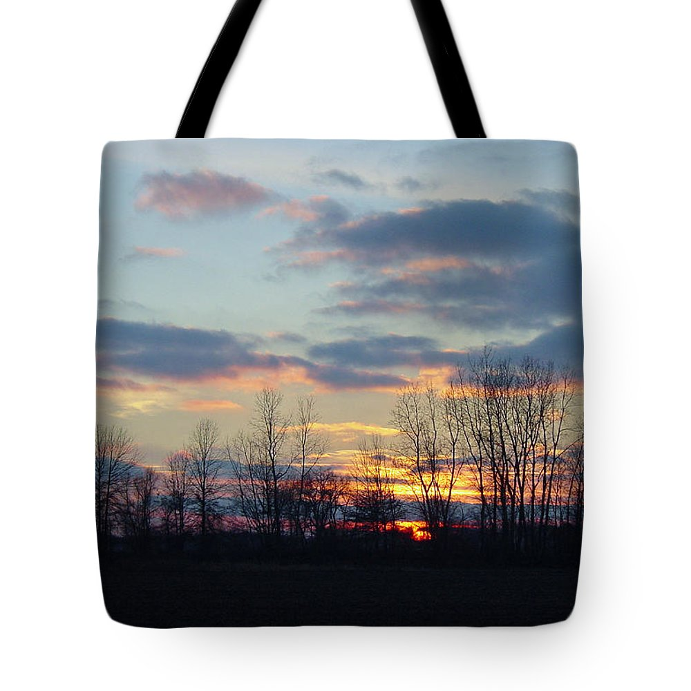 South Carolina Tote Bag featuring the photograph Carolina Sunset by Suzanne Gaff