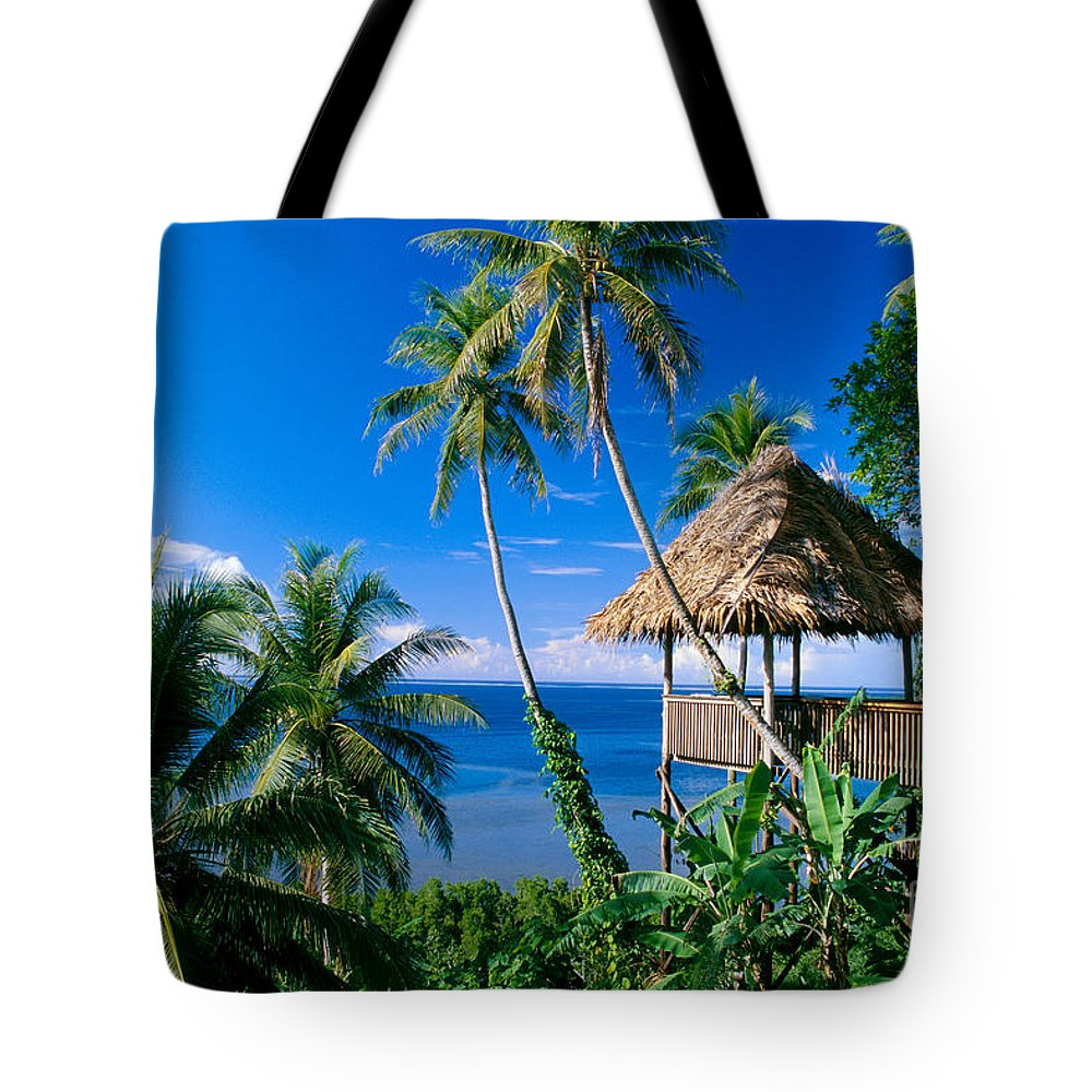 Accommodation Tote Bag featuring the photograph Caroline Islands, Pohnpei by Joe Carini - Printscapes