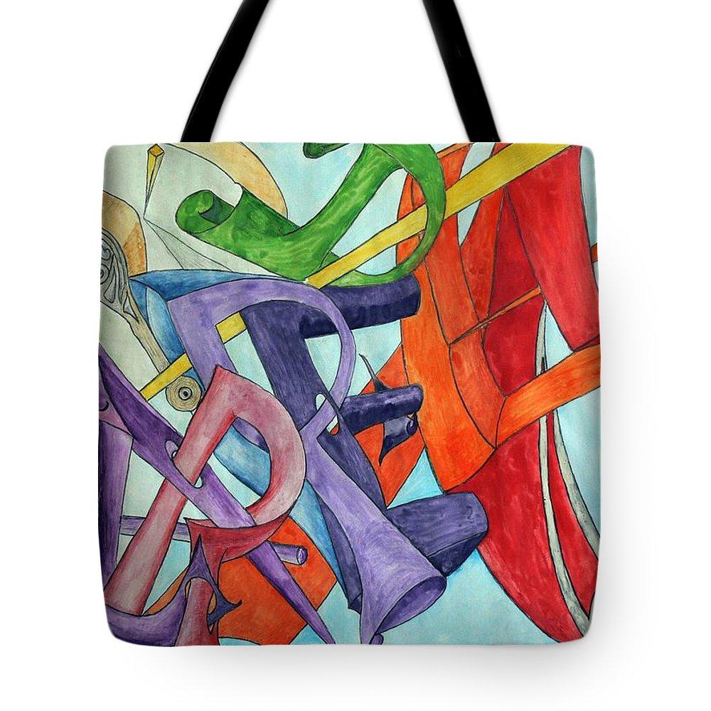 Carpe Diem Tote Bag featuring the painting Carpe Diem by Helmut Rottler