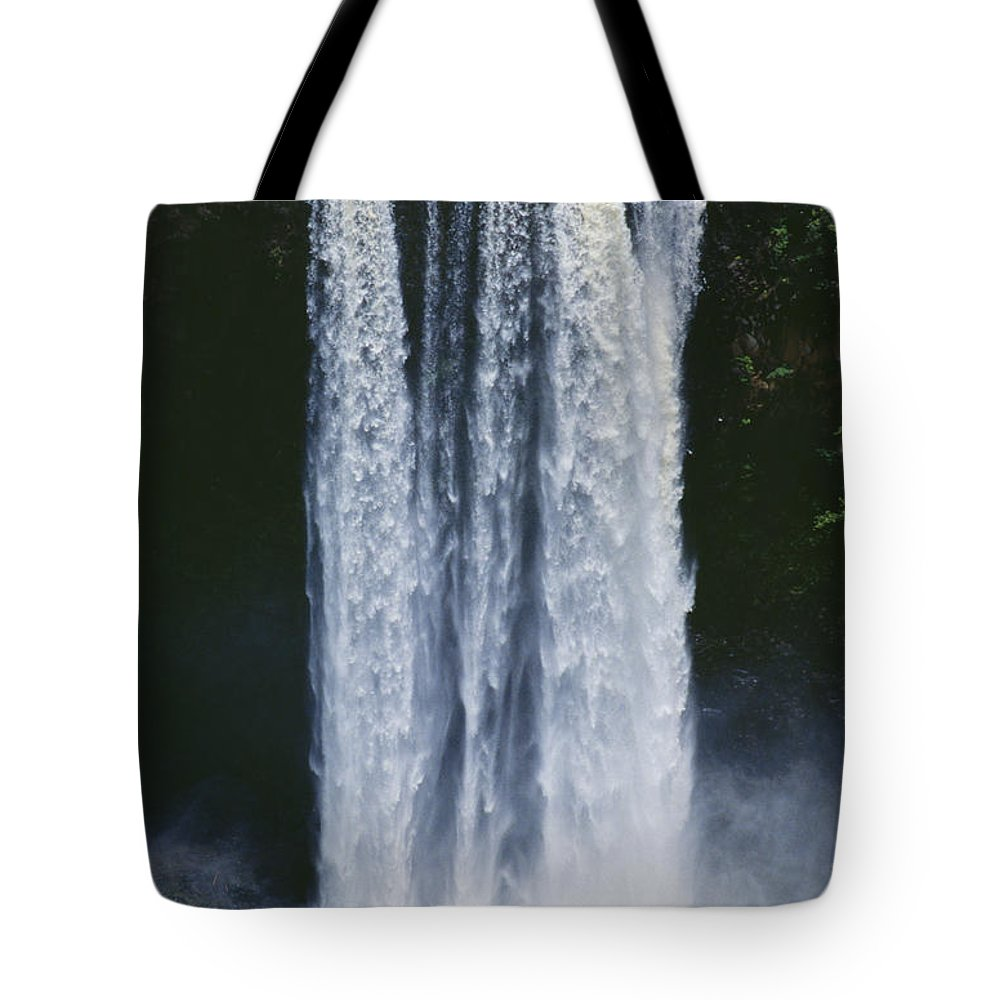 Active Tote Bag featuring the photograph Cascading Waterfall by Kyle Rothenborg - Printscapes