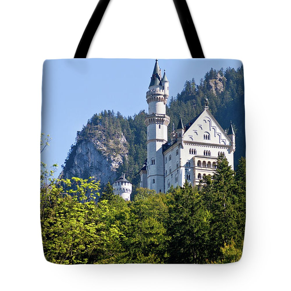 Schloss Tote Bag featuring the photograph Castle 2 by Bernard Barcos
