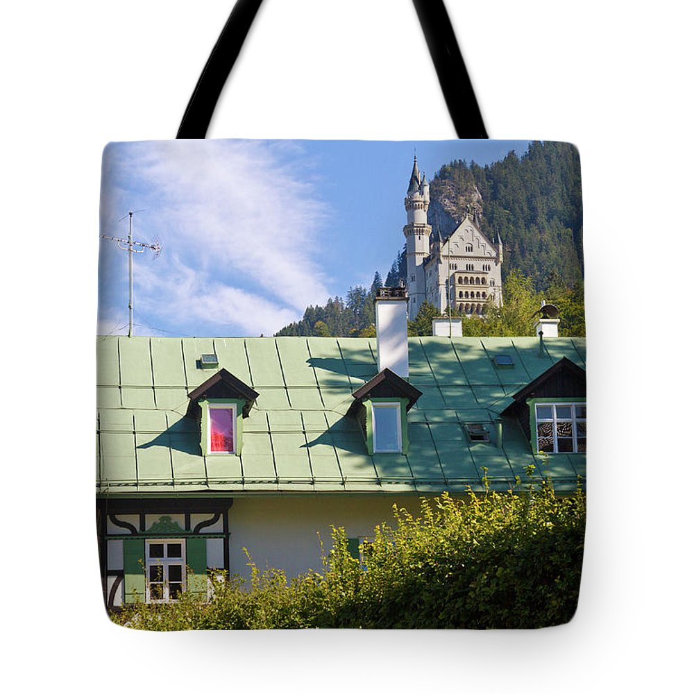 Schloss Tote Bag featuring the photograph Castle 3 by Bernard Barcos