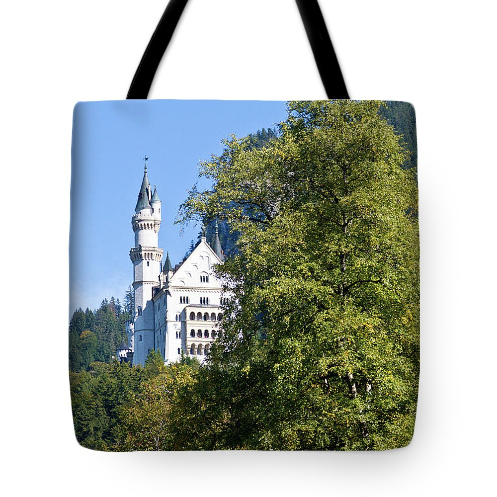 Schloss Tote Bag featuring the photograph Castle 4 by Bernard Barcos