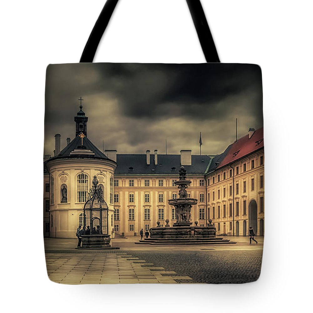 Castle Hill Tote Bag featuring the photograph Castle Hill In Color by Laura Macky