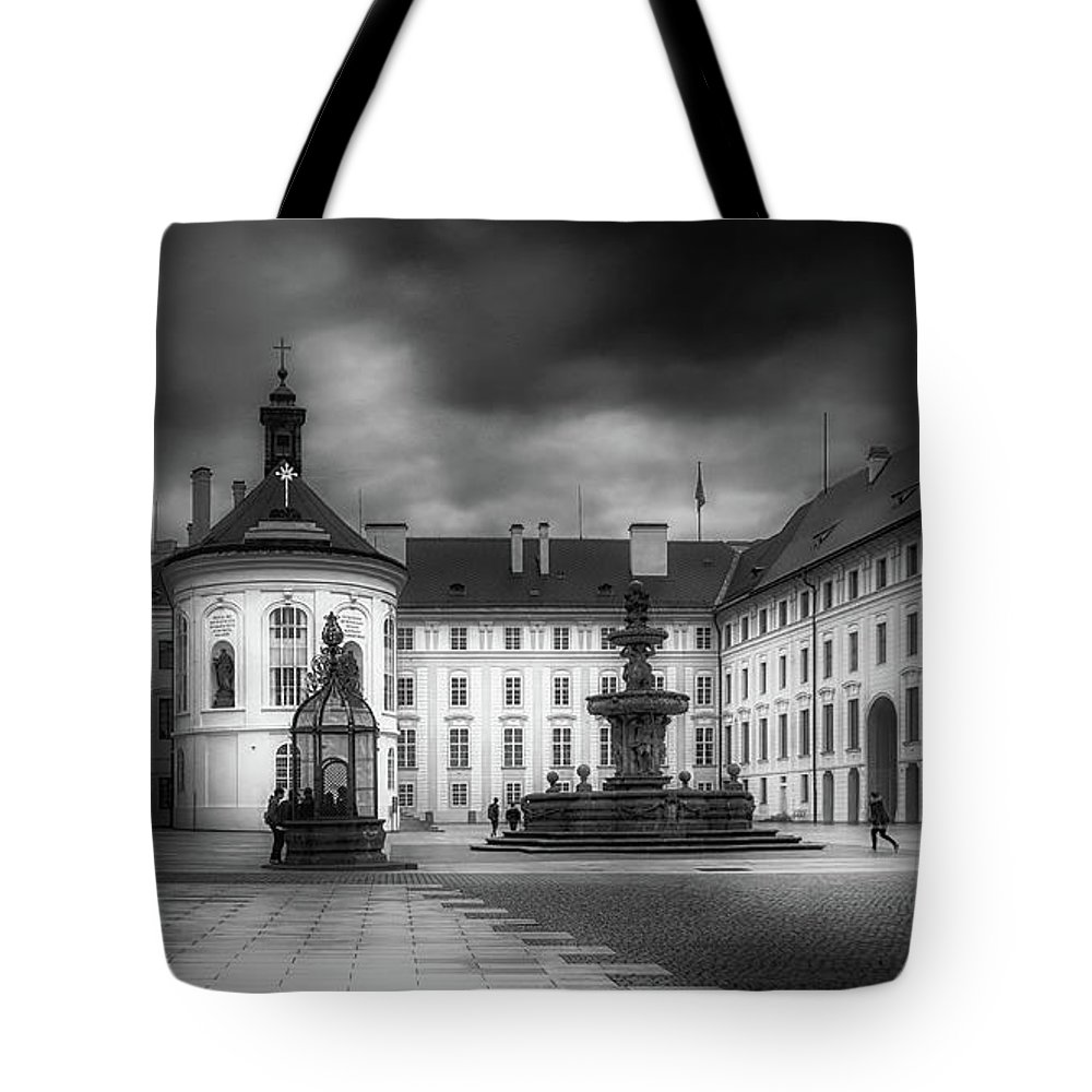 Castle Hill Tote Bag featuring the photograph Castle Hill by Laura Macky