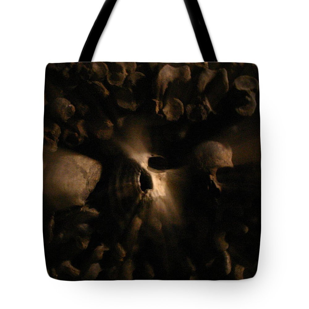 Tote Bag featuring the photograph Catacombs - Paria France 3 by Jennifer McDuffie