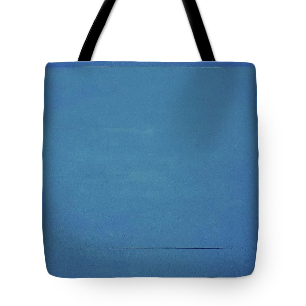 #abstract Tote Bag featuring the painting Catalina by Erin Trunel