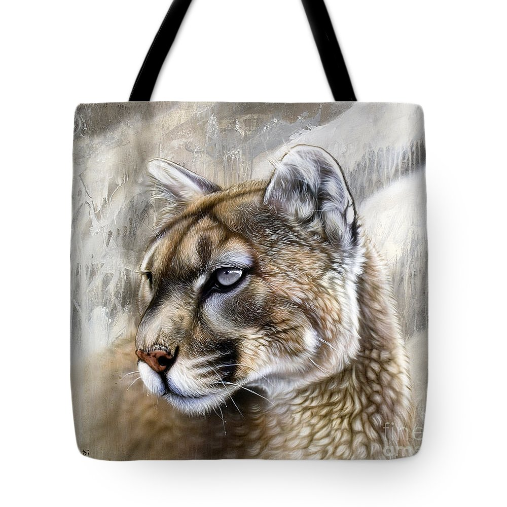 Panther Tote Bags