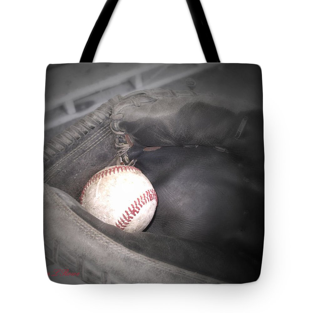 Sports Tote Bag featuring the photograph Catch Me by Shana Rowe Jackson