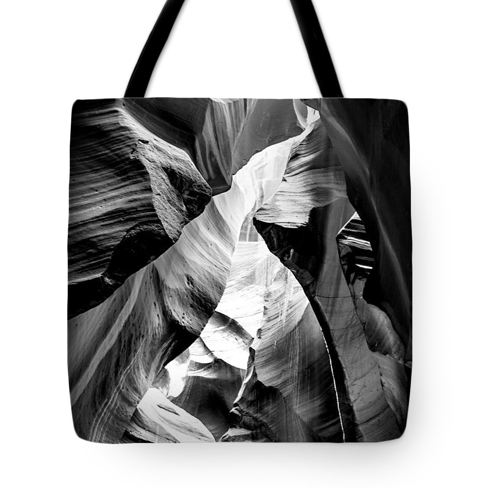 Antelope Canyon Tote Bag featuring the photograph Cathedral Cave by Az Jackson
