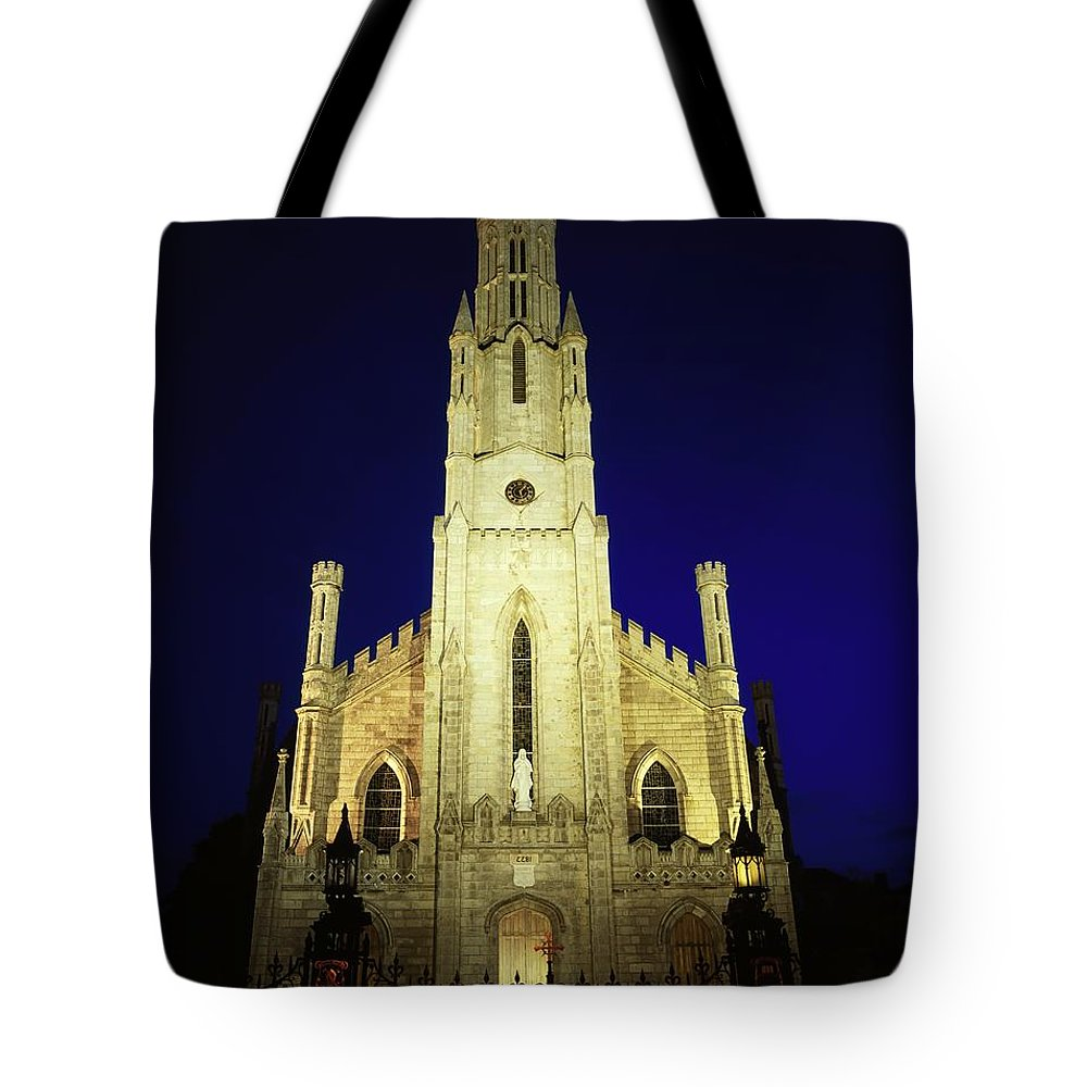 Architecture Tote Bag featuring the photograph Cathedral Of The Assumption, Carlow, Co by The Irish Image Collection