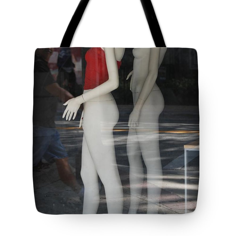 Pop Art Tote Bag featuring the photograph Caught Ya Looking by Rob Hans