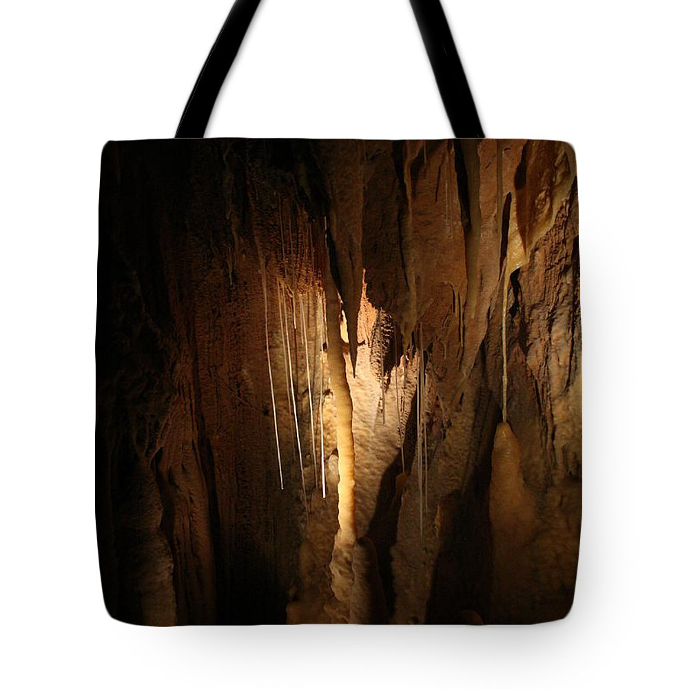 Natural Tote Bag featuring the photograph Cave 14 by Lynn Michelle