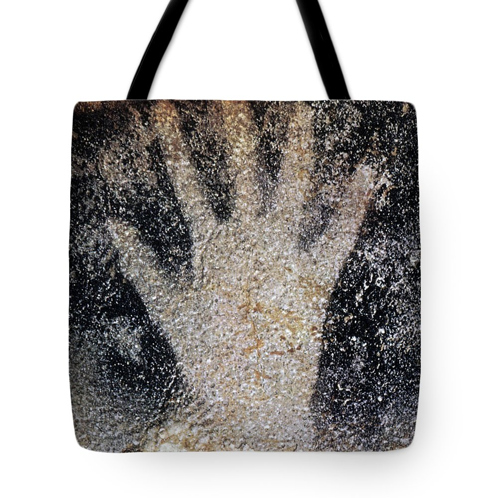 Cave Tote Bag featuring the photograph Cave Art: Pech Merle by Granger