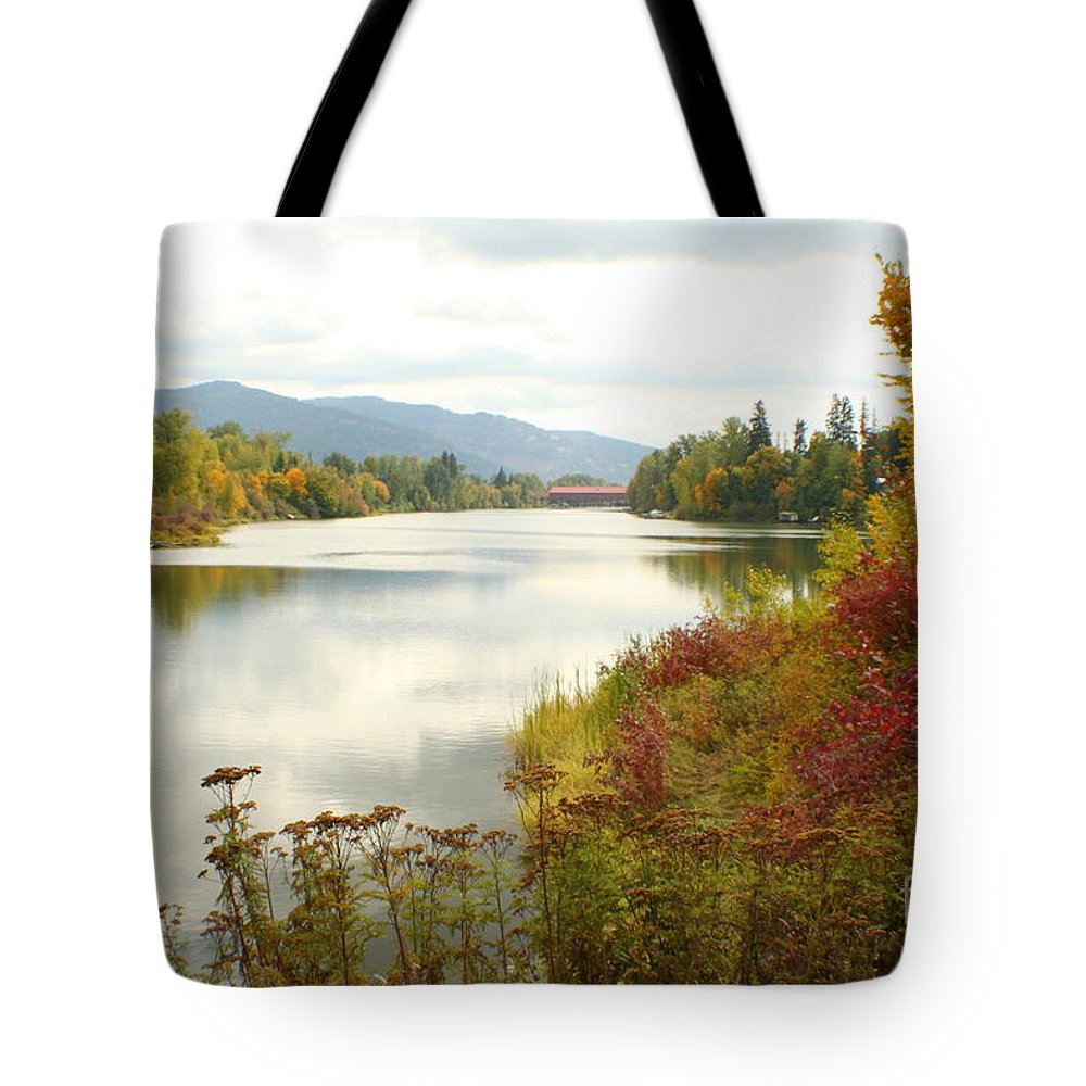 Cedar Tote Bag featuring the photograph Cedar Street Bridge by Idaho Scenic Images Linda Lantzy