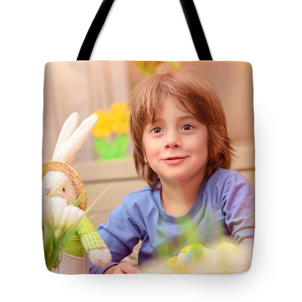 Baby Tote Bag featuring the photograph Celebrating Easter Holiday by Anna Om