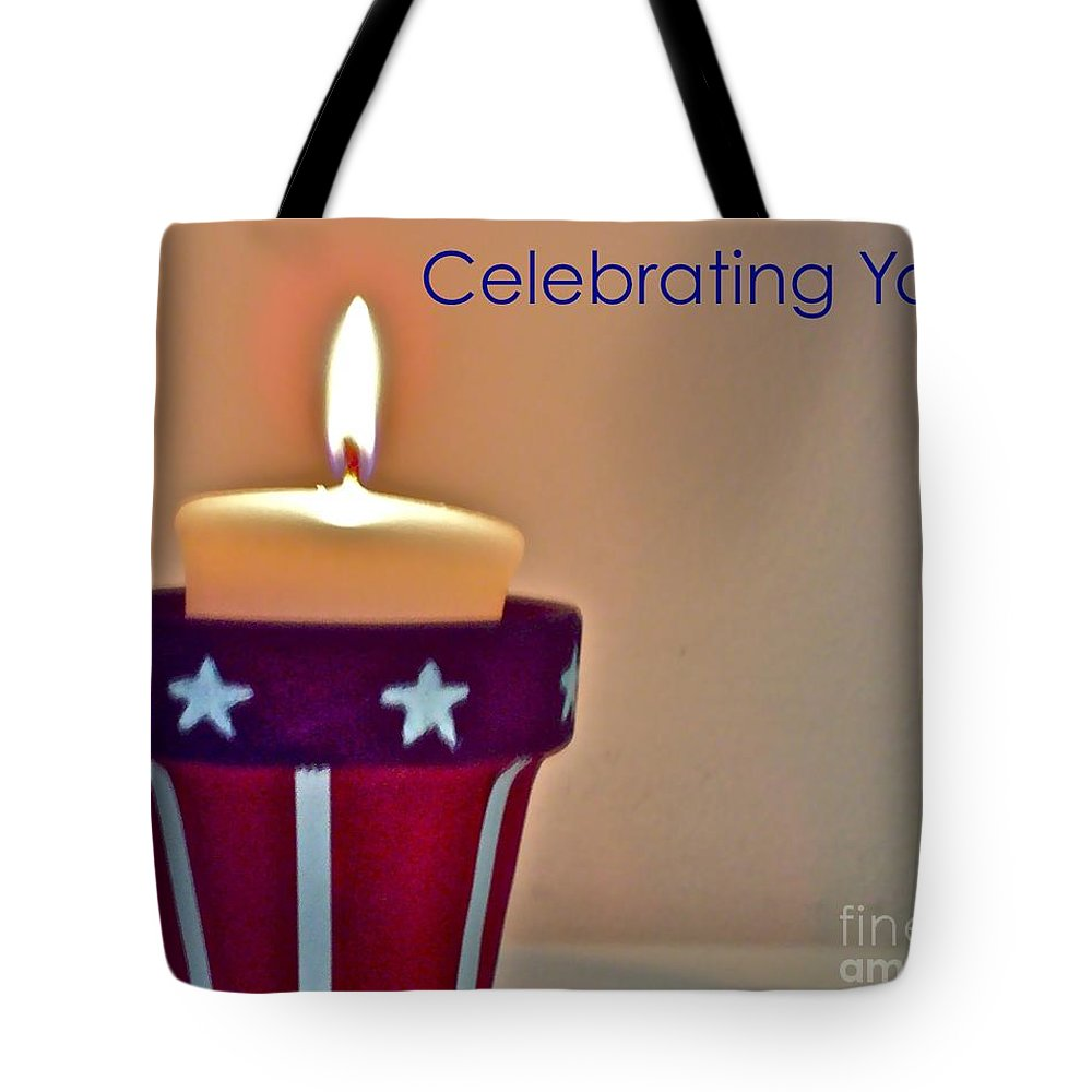 Stars Tote Bag featuring the photograph Celebrating You by Vicki Lynn Sodora