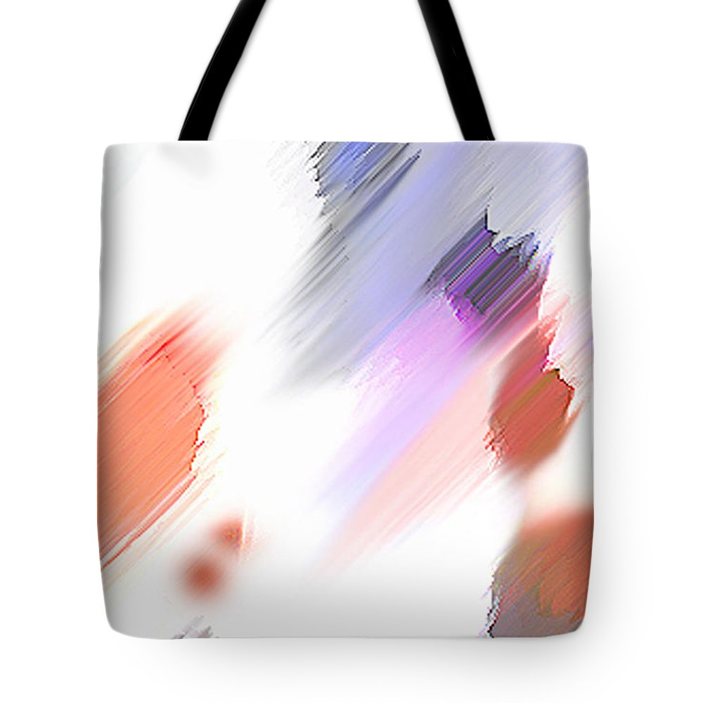 Digital Art Water Color Watercolor Light Color Tote Bag featuring the painting Celebration by Anil Nene