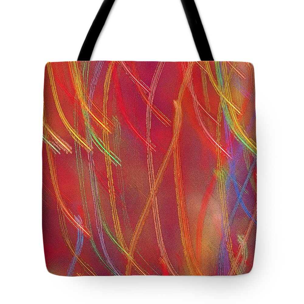 Abstract Tote Bag featuring the photograph Celebration by Gaby Swanson
