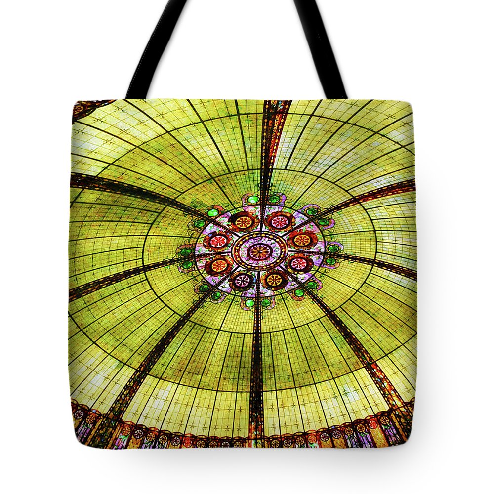Vegas Tote Bag featuring the photograph Celebration Of Glass by JAMART Photography